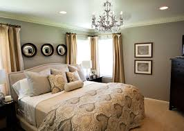 traditional master bedroom grey. Grey Wall Paint Color For Traditional Master Bedroom Makeover Ideas With Decorative Pictures