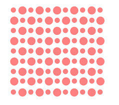 Polka Dot Pattern Simple Circle Dots Pattern Stencil Polka Dot Cookie Stencil