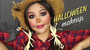 cute scarecrow makeup tutorial