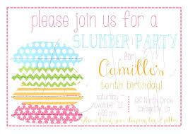 Slumber Party Invitations Templates Free Jonandtracy Co