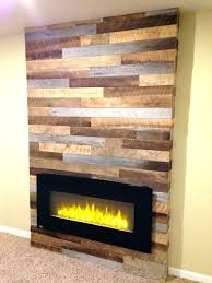 pallet fireplace surround electric fireplace wood surround how to build a electric fireplace surround it looks like the real pallet wood fireplace surround