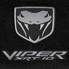 dodge viper srt 10 logo. Exellent Dodge Dodge Ram Viper SRT10 SRT10 2004 2005 2006 2Pc Black Set Inside Srt 10 Logo I