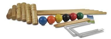 croquet pro 6 player traditional wooden croquet set