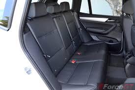 BMW Convertible bmw x3 back seat : 2014 BMW X3 xDrive30d LCI rear seats-1 - ForceGT.com