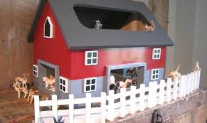wooden toy horse barn full size of home play barns for kids design