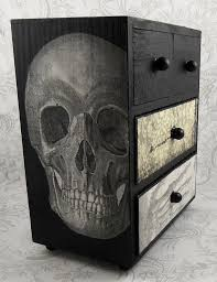 black and white furniture. black and white skull skeleton vintage anatomy by pzcreations22 2950 furniture