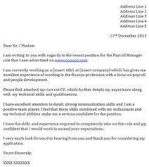 Payroll Administrator Cover Letter Payroll Administrator Cover Letter With No Experience