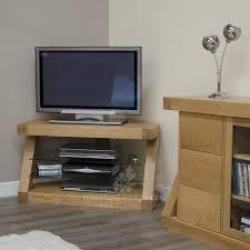 Corner Tv Unit Z Solid Oak Designer Corner Tv Unit For The Home Pinterest