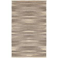 lr resources natural fiber antique dark gray rectangle 8 ft x 10 ft indoor