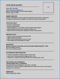 Resume Samples Doc Free Simple Resume Format Doc Professional