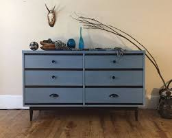 modern painted furniture. Using CeCe Caldwell\u0027s Chalk + Clay Paint In Chesapeake Blue, Girl Blue Designs, Modern Painted Furniture C