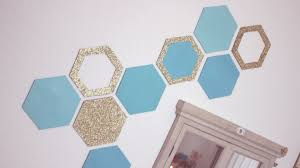 Diy Wall Decor Diy Honeycomb Wall Decor Easy Recycling Home Decor Idea Youtube