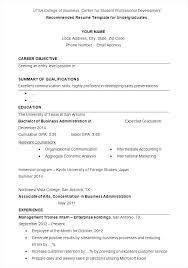 College Resume Tips Example Of College Resume Example Of College Resume For College