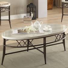 Marble Living Room Table Set Faux Marble Coffee Table Set Wayfair