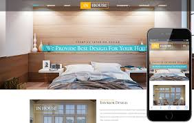 Interior Design Template In House An Interior And Furniture Responsive Web Template