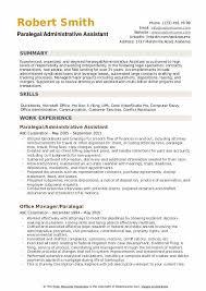resume specialties examples paralegal resume samples qwikresume