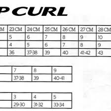 Rip Curl Booties Size Chart Dawn Patrol Round Toe Booties 5mm