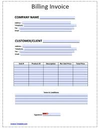 Sample Export Invoice Format Of In Excel Template Word Photo Free
