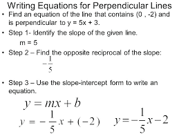 parallel perpendicular intersecting lines worksheets for grade slope graph and graphing writing equations