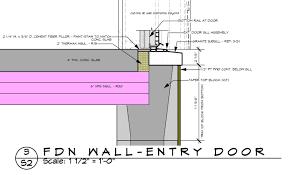 door jamb detail plan. Threshold Detail Exterior Doorexterior Door Sill Doors And Screen Jamb Plan