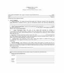 Simple Commercial Lease Agreement. Simple Commercial Lease Agreement ...