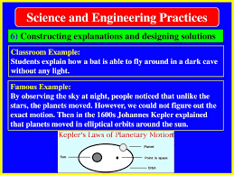 Constructing Explanations And Designing Solutions Examples Science And Engineering Practices Ppt Download