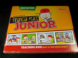 Financial Peace Junior Chore Chart Financial Peace Jr Dave Ramsey Juniors Adventures Smart