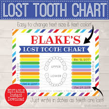 Simply download the chart in the free printable library and place it in a 5×7 frame to create a dry erase tooth brushing reminder. Lost Tooth Keepsake Printable Digital Missing Teeth Chart Tracker Rainbow Fairy Gift Instant Download Editable First Dental Loss Girl Boy By Madi Loves Kiwi Printables Shop Catch My Party