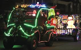 Lighted Tractor Parade Lighted Tractor Parade Returns To Manchester The