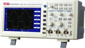 <b>UTD2102CEX</b>, <b>Осциллограф</b> цифровой, 2 канала х 100МГц, USB ...