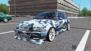 bmw m3 e46 stanced. Delighful E46 City Car Driving  BMW M3 E46 Stanced In Bmw T