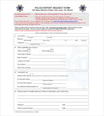 police report templates sample example format sjpd org police report request form is very easy and simple to record events and reserved as a report for accident and crime incidents