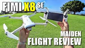 Xiaomi <b>FIMI X8 SE</b> Maiden Flight Test Review - [Lots of Pros & Lots ...