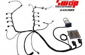 hemi swap specialties hemi wiring harness for jk harnesses and pcm's