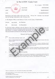 Example Of Divorce Decree Best Order A Divorce Certificate