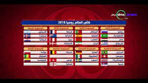 المقصورة - ترتيب منتخبات التصنيف الرابع واكتمال جدول مجموعات كأس العالم بـ  روسيا 2018 - YouTube