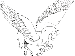 Unicorno Con Le Ali Disegno Da Colorare Difficile Disegni Da