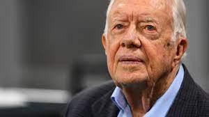 Jimmy Carter vor Thanksgiving aus ...