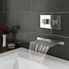 waterfall bathtub faucet wall mount elegant plaza wall mounted waterfall bath filler concealed thermostatic stock of