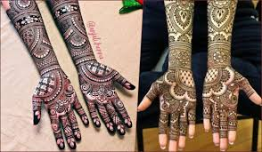 Dulhan Mehndi Designs Full Hand Latest Wedding Mehndi Designs 2019 For Brides Simple Bridal