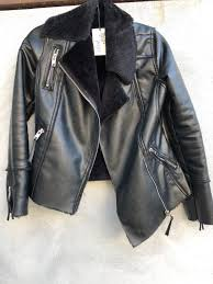 blanknyc leather jacket with fur inside xs dry clean only warm jacket fashion clothing shoes accessories womensclothing coatsjacketsvests link