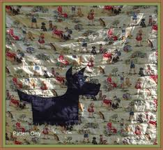 scottie dog quilt pattern | in and out the needle goes | Pinterest ... & scottie dog quilt pattern Adamdwight.com