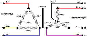 phase isolating transformer delta star connection 3 phase isolating transformer delta star connection