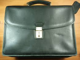 details about vintage handmade joseph daniel leather attache case briefcase brown made in usa
