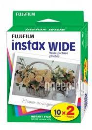Купить <b>Fujifilm</b> Wide <b>Glossy 10</b>/<b>2PK для</b> Instax 210 / 300 по низкой ...