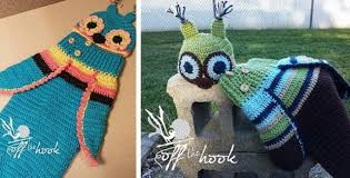Free Owl Cocoon Crochet Pattern Inspiration Crocheted Baby Owl Cocoon And Hat [FREE Crochet Pattern]
