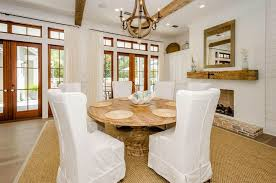 contemporary dining room with hardwood floors carpet zillow wooden wine barrel stave chandelier