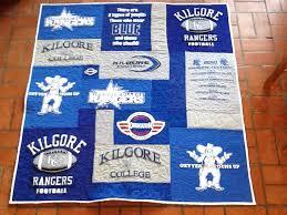 Kilgore College Football Quilt – T-Shirt Quilts – Got Quiltz & Kilgore College Football Quilt Adamdwight.com