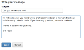 asking for a letter of recommendation email 5 best practices for requesting linkedin recommendations