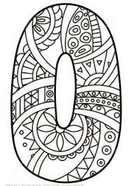 Small Picture Number 5 Zentangle Super Coloring Suli Pinterest Zentangle